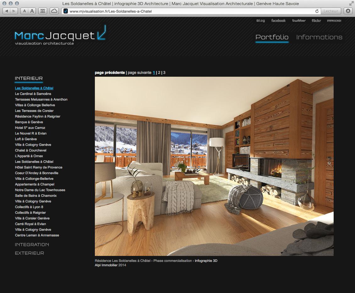 MJ Visualisation - site web 01