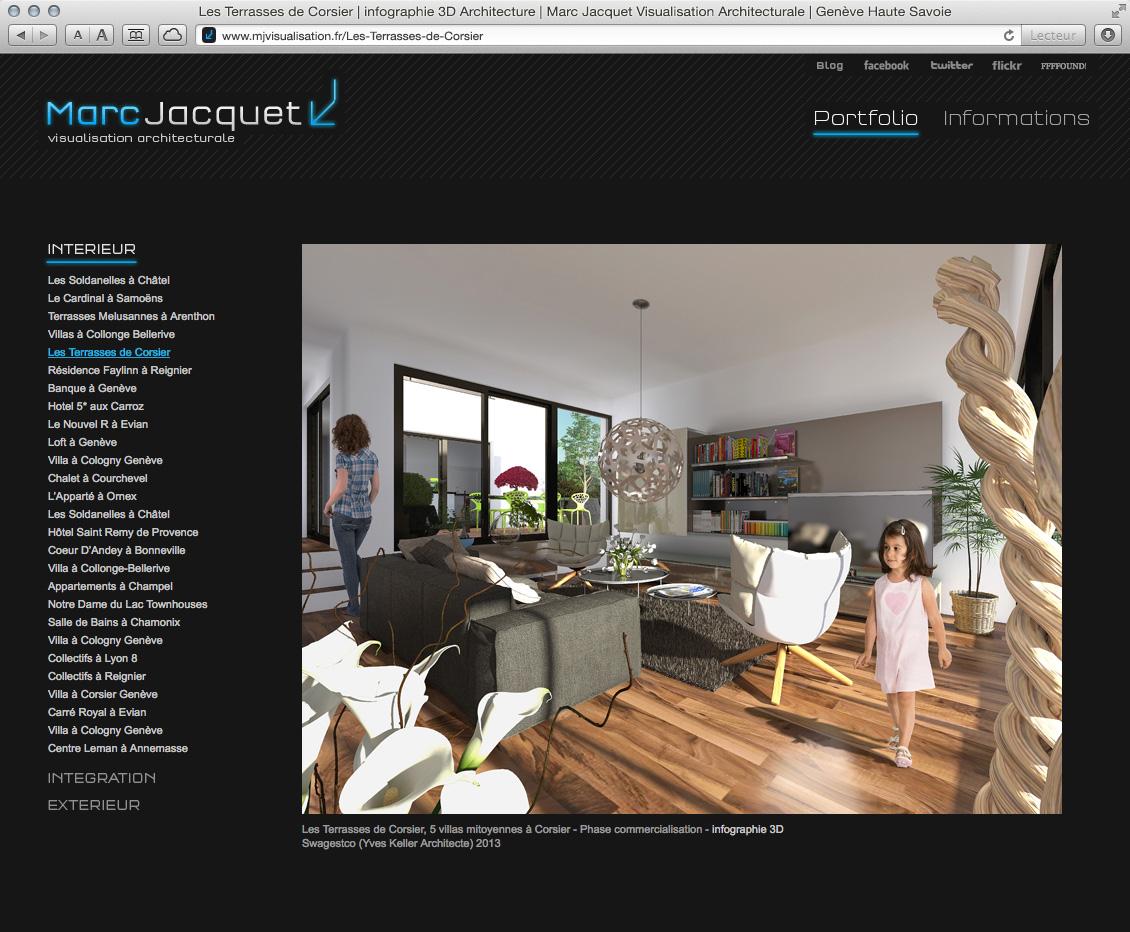MJ Visualisation - site web 03