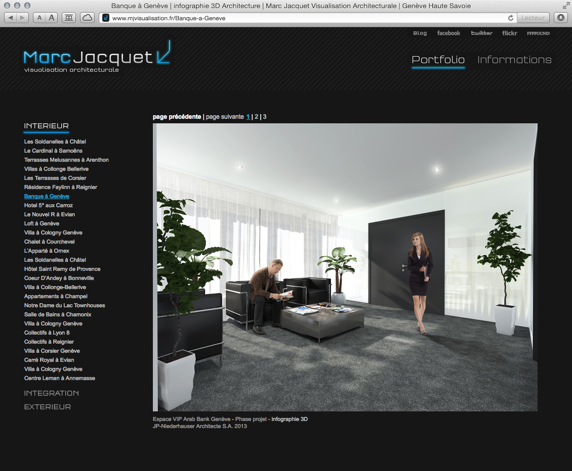 MJ Visualisation - site web 04