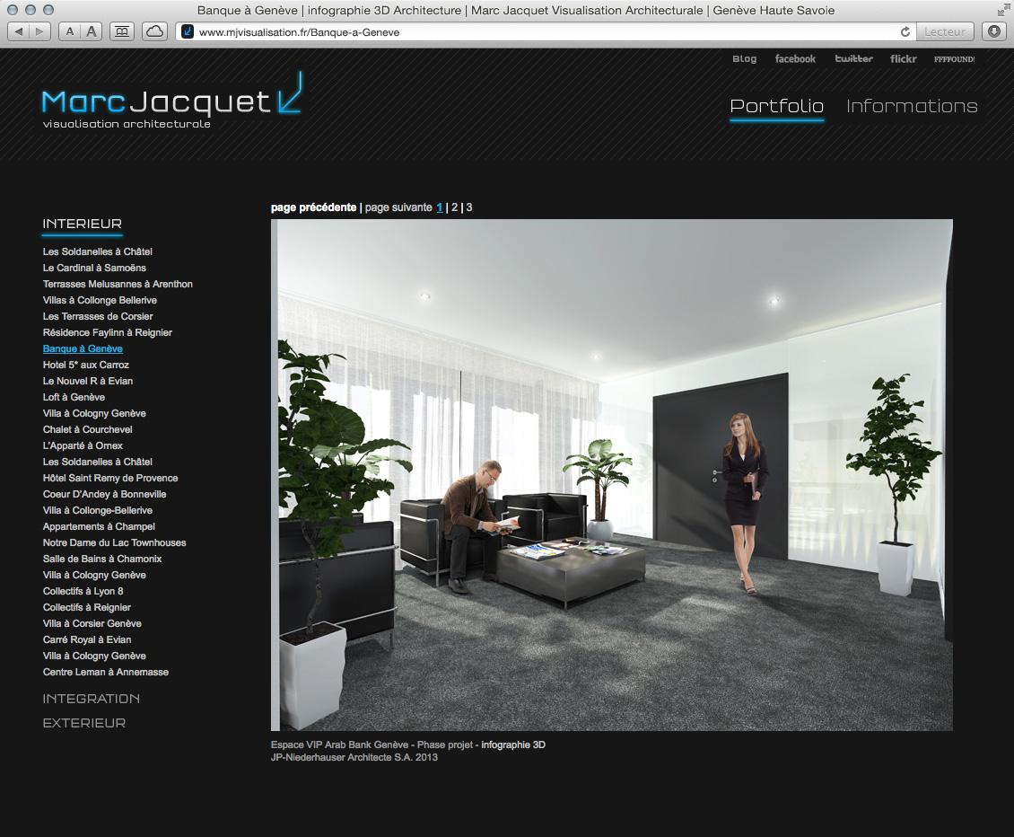 MJ Visualisation - site web 04