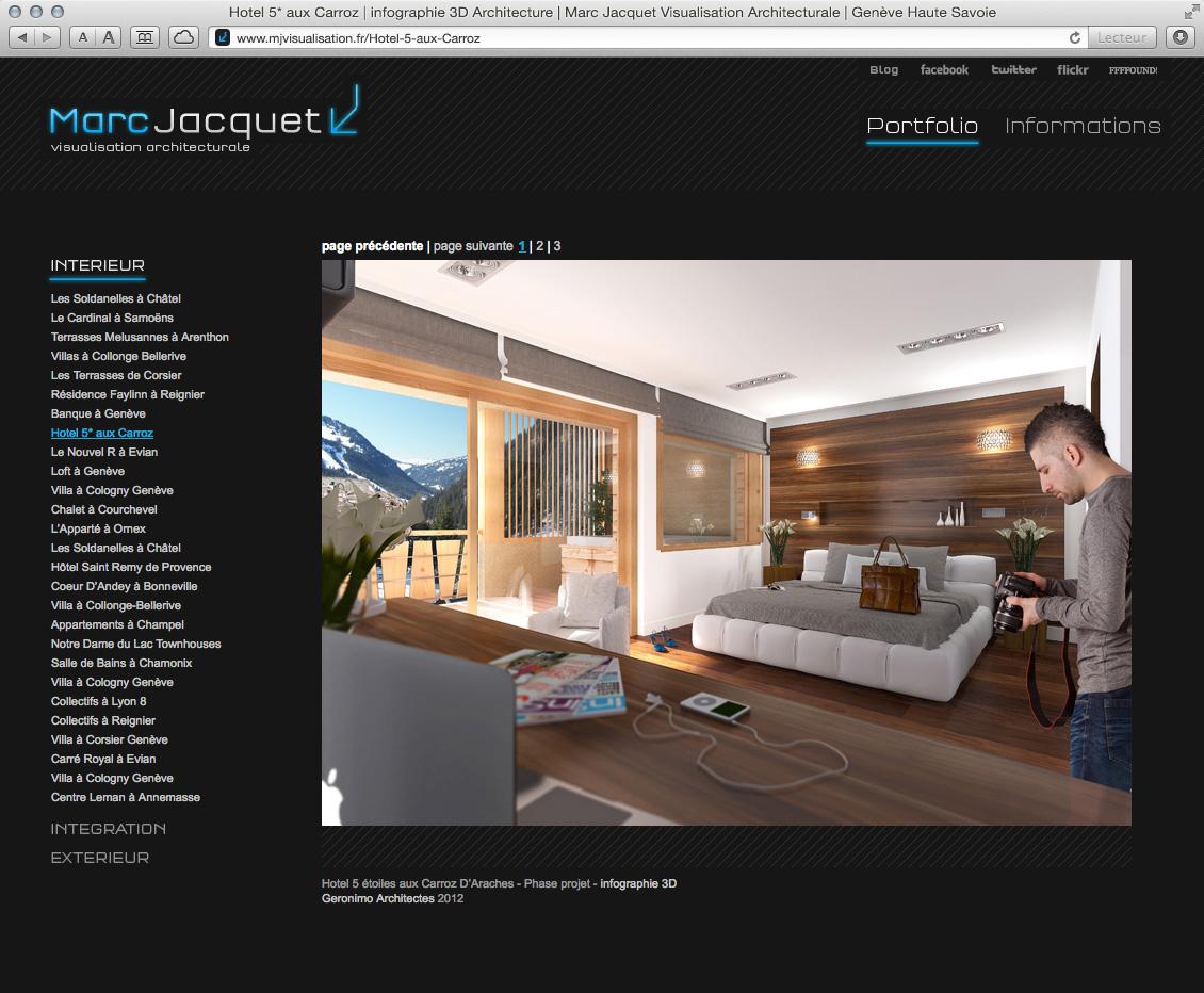 MJ Visualisation - site web 05
