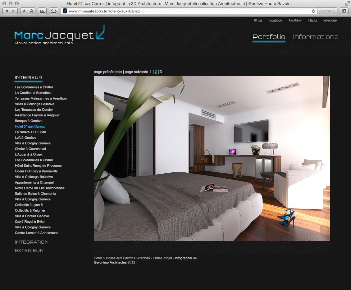 MJ Visualisation - site web 06