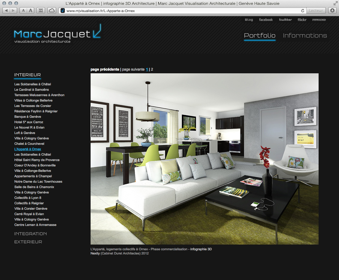 MJ Visualisation - site web 07