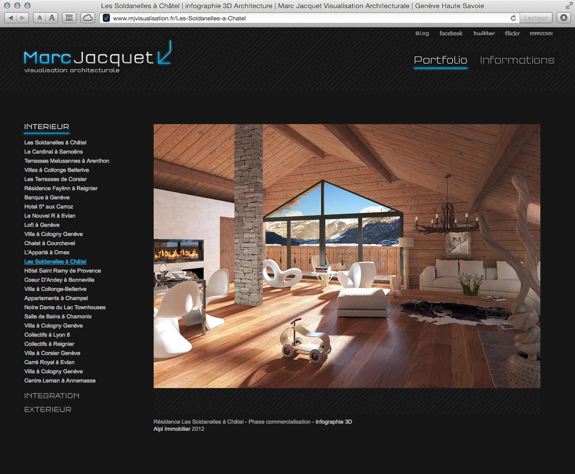 MJ Visualisation - site web 08