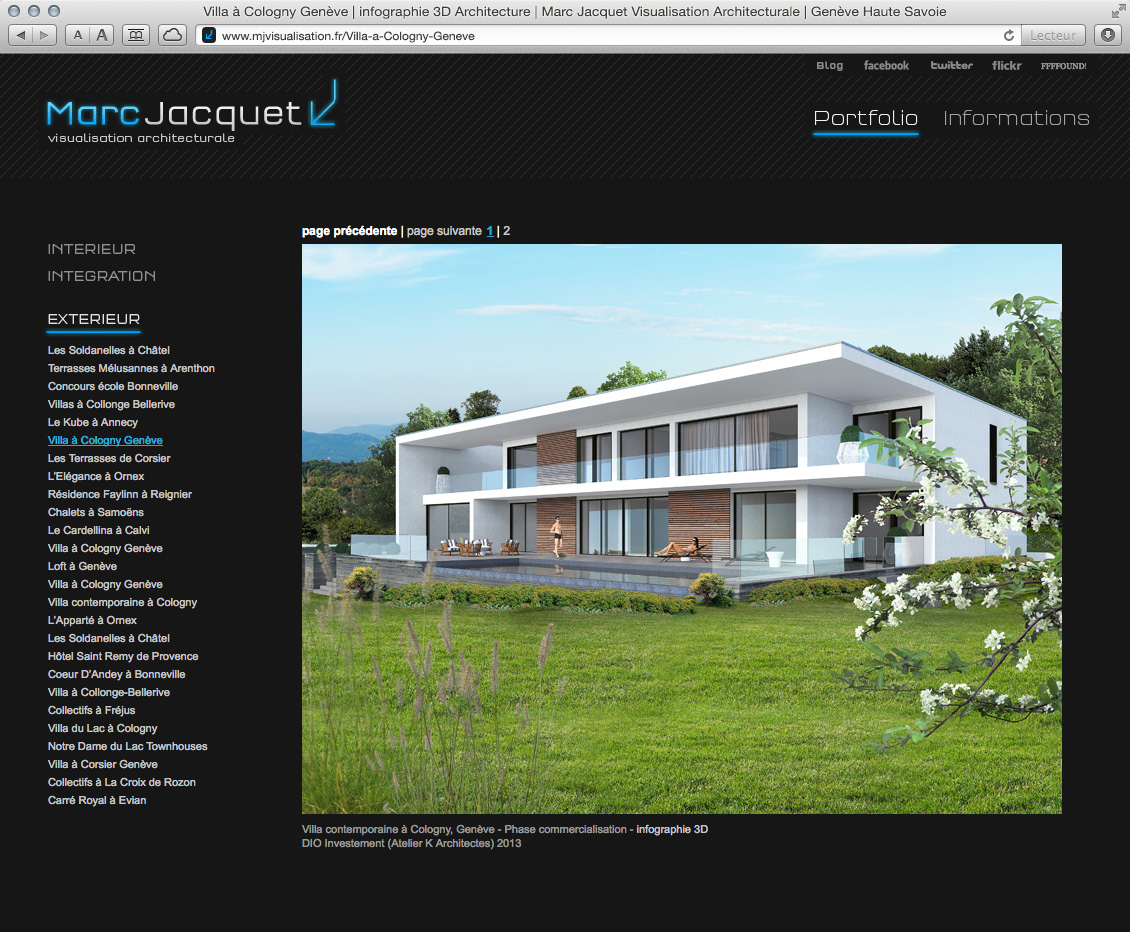 MJ Visualisation - site web 10
