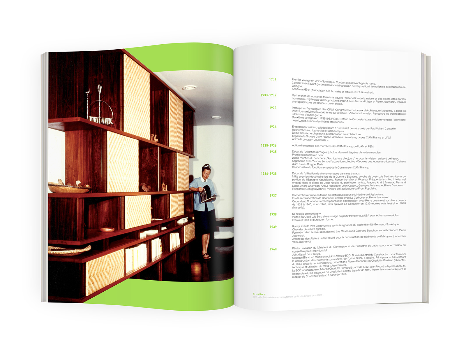 galerieDOWNTOWN - Catalogue Charlotte Perriand Bresil p06-07