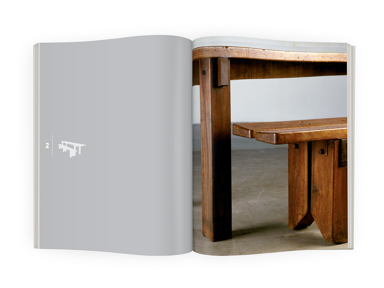 galerieDOWNTOWN - Catalogue Charlotte Perriand Bresil p44-45