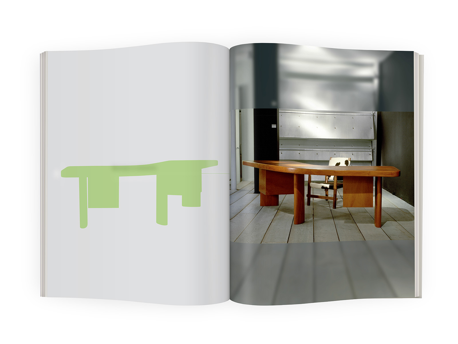 galerieDOWNTOWN - Catalogue Charlotte Perriand Bresil p52-53