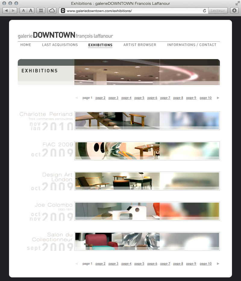 galerieDOWNTOWN - exhibitions
