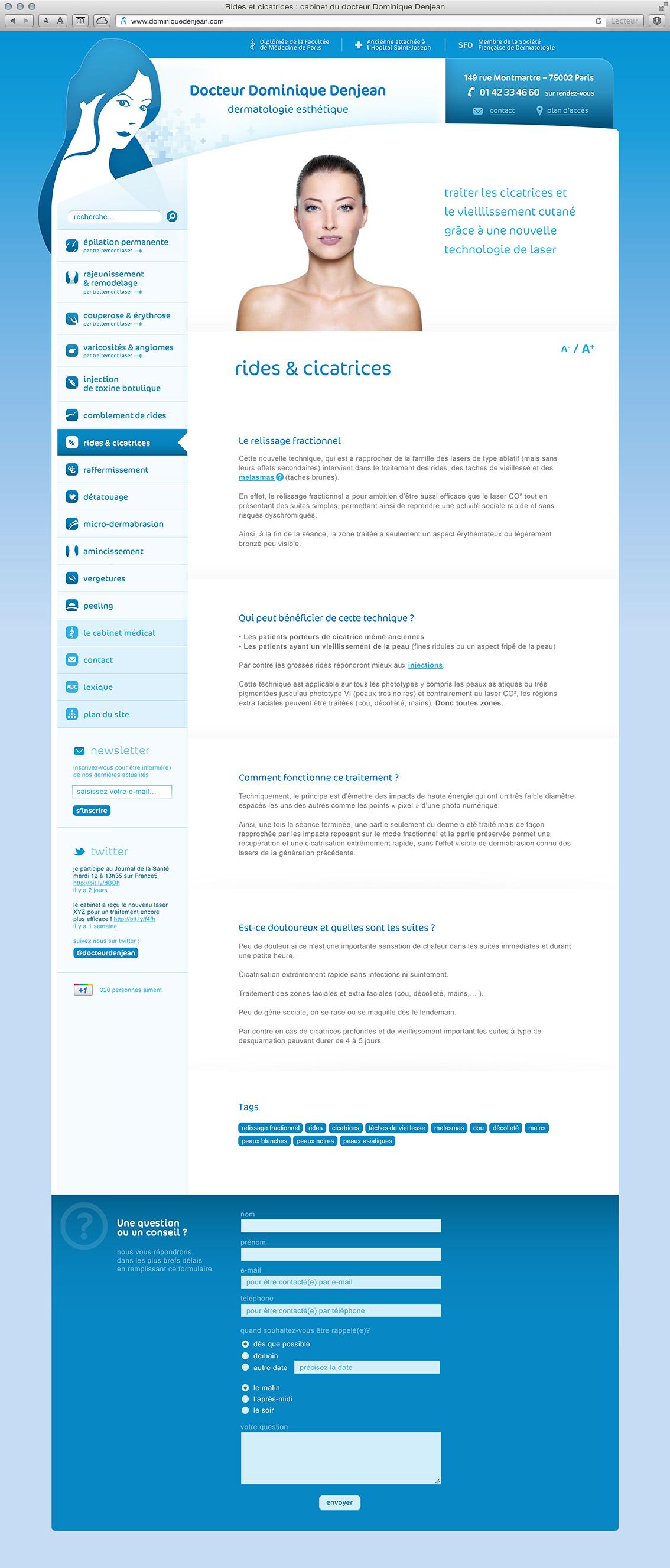 Dr Dominique Denjean - site web