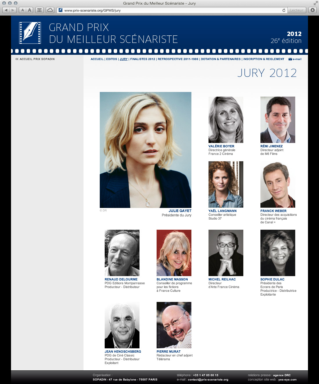 Sopadin - site web 4 GPMS jury