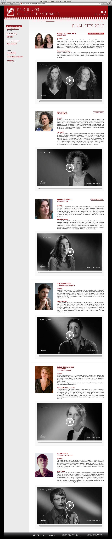 Sopadin - site web 5 PJMS finalistes